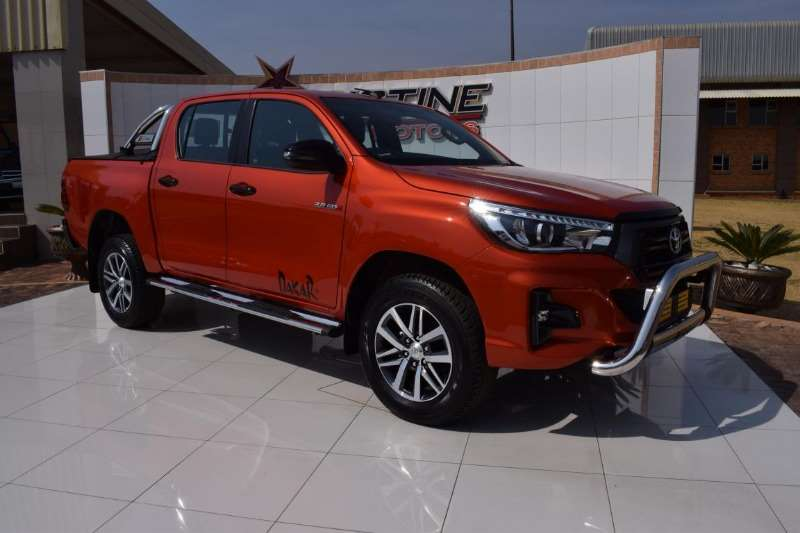 2018 toyota hilux 2 8gd 6 dakar double cab 4x4 raider auto cars for sale in gauteng r 679 950. Black Bedroom Furniture Sets. Home Design Ideas