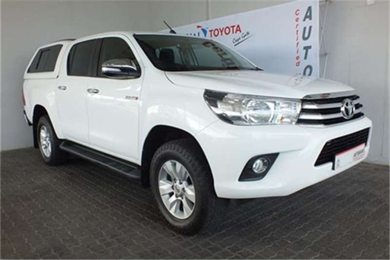 Toyota Hilux 2.8GD-6 double cab 4x4 Raider 2016
