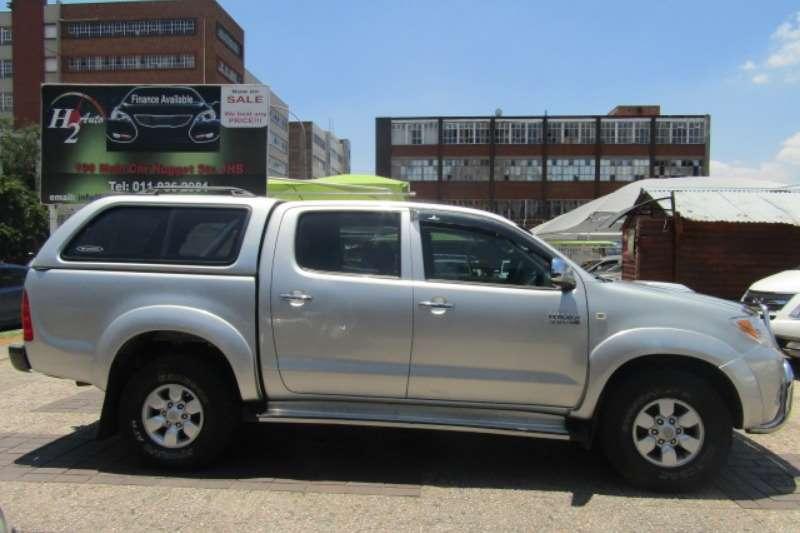 Toyota Hilux 3.0D 4D double cab 4x4 Raider 2007