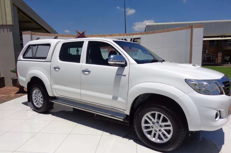 Used Toyota For Sale >> 2014 Toyota Hilux 3.0D 4D double cab Raider Double cab bakkie ( Diesel / RWD / Manual ) Cars for ...