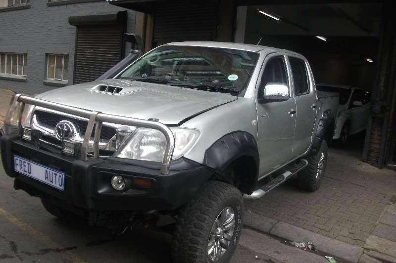 Toyota Hilux 3.0D 4D double cab Raider automatic 2010