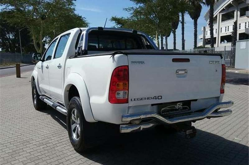Toyota Hilux 3.0D 4D Double Cab Raider Legend 40 Auto 2010