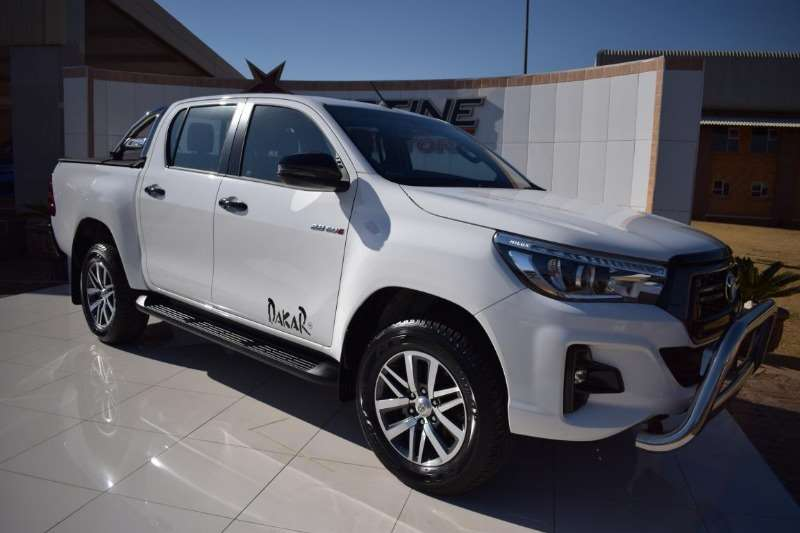 Used Toyota For Sale >> 2018 Toyota Hilux Double Cab HILUX 2.8 GD 6 RAIDER 4X4 P/U D/C A/T DAKAR Cars for sale in ...