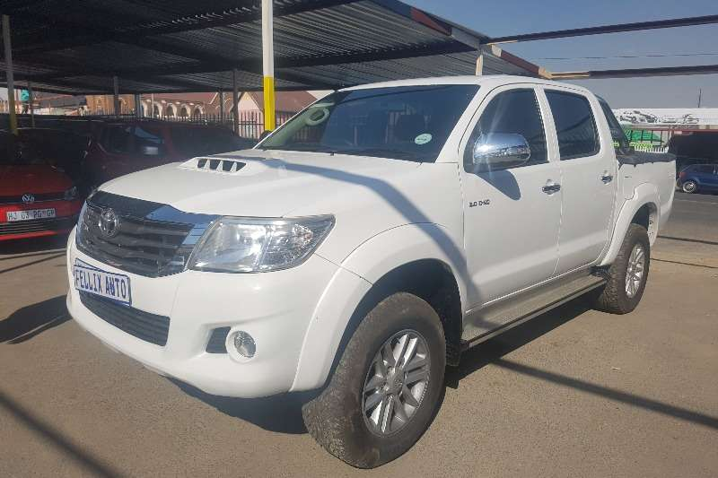 2012 Toyota Hilux double cab