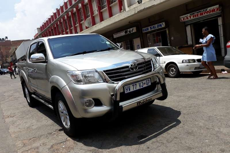 2011 Toyota Hilux double cab
