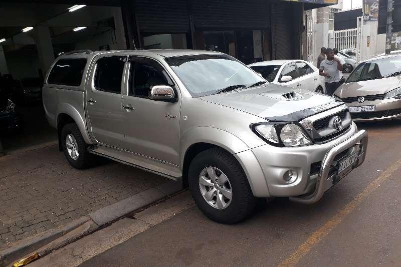 2011 Toyota Hilux 2.4GD 6 double cab 4x4 SRX
