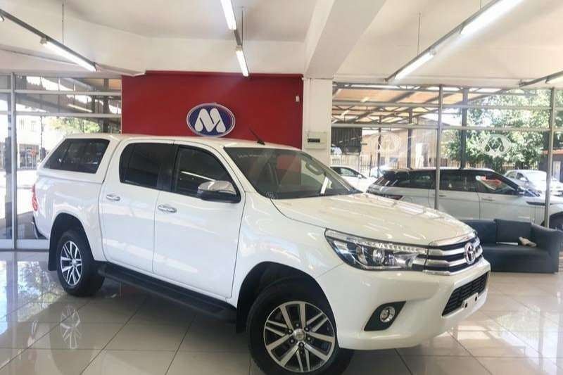 2018 Toyota Hilux 2.8GD 6 double cab Raider