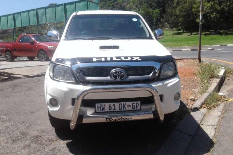 2010 Toyota Hilux 3.0D 4D double cab Raider automatic