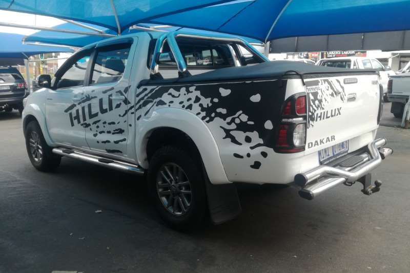 2013 Toyota Hilux 3.0D 4D 4x4 Raider