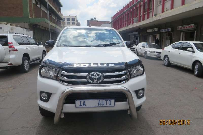 2017 Toyota Hilux 2.4GD