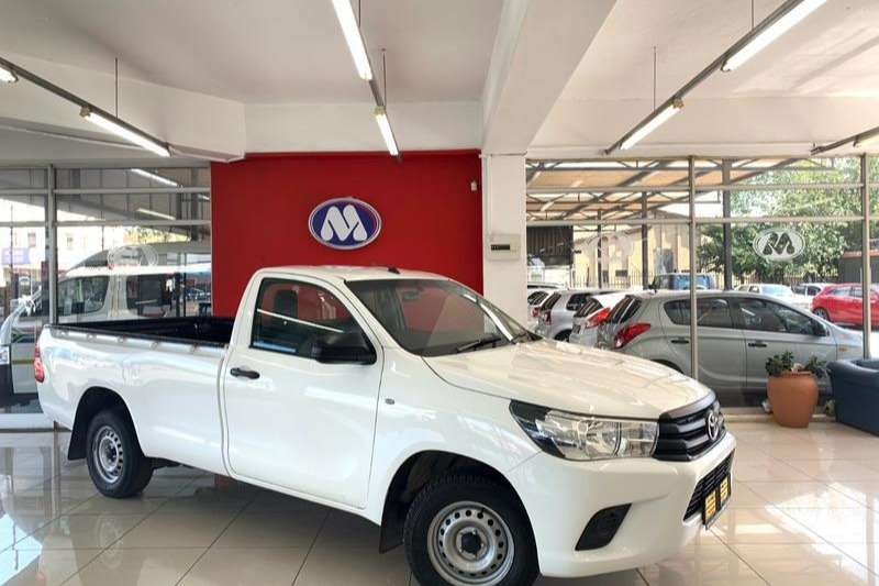 2018 Toyota Hilux 2.4GD (aircon)