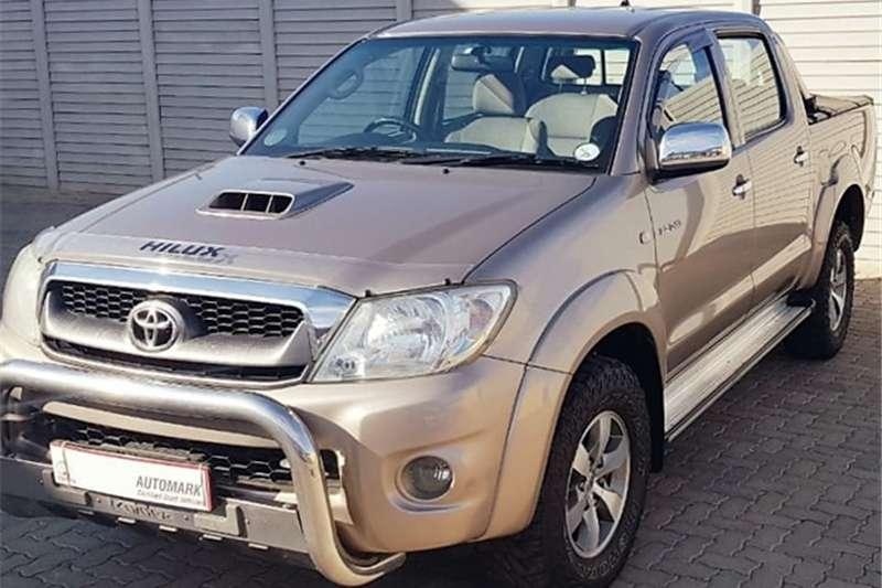 2010 Toyota Hilux 3.0D 4D double cab 4x4 Raider automatic