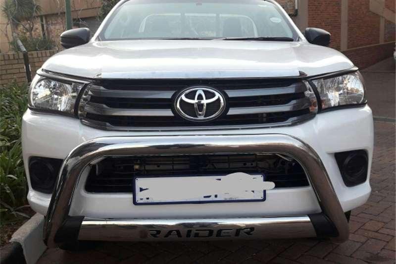 2016 Toyota Hilux 2.0 SRX
