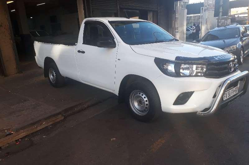 2017 Toyota Hilux single cab HILUX 2.4 GD P/U S/C