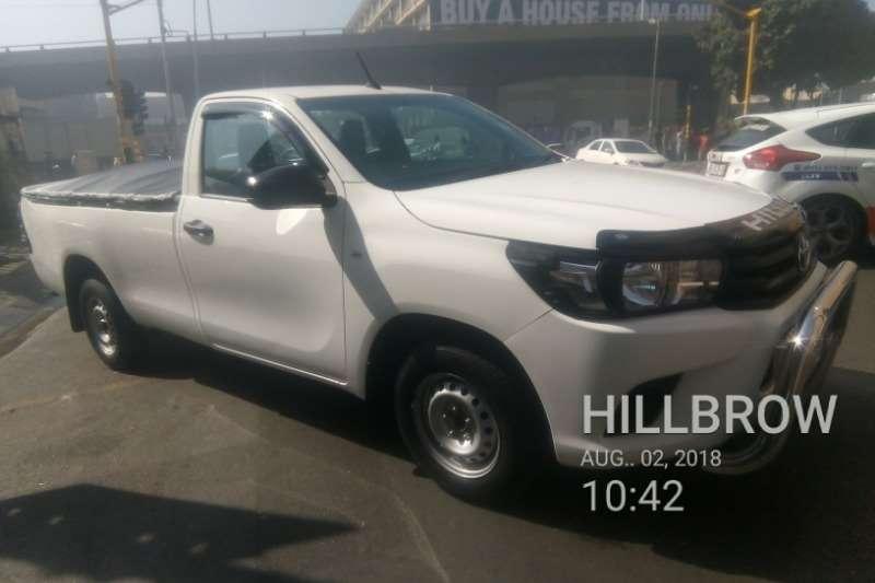 2017 Toyota Hilux single cab HILUX 2.0 VVTi A/C P/U S/C