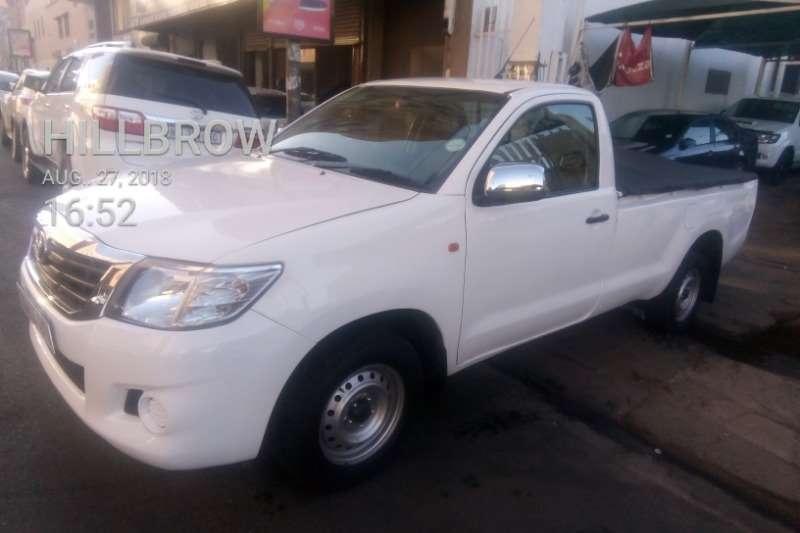 2013 Toyota Hilux single cab HILUX 2.7 VVTi RB SRX P/U S/C