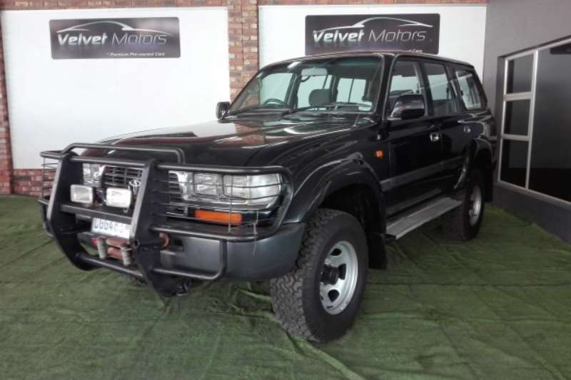 1995 Toyota Land Cruiser 100 4.5 GX Crossover - SUV ( AWD ) Cars for ...