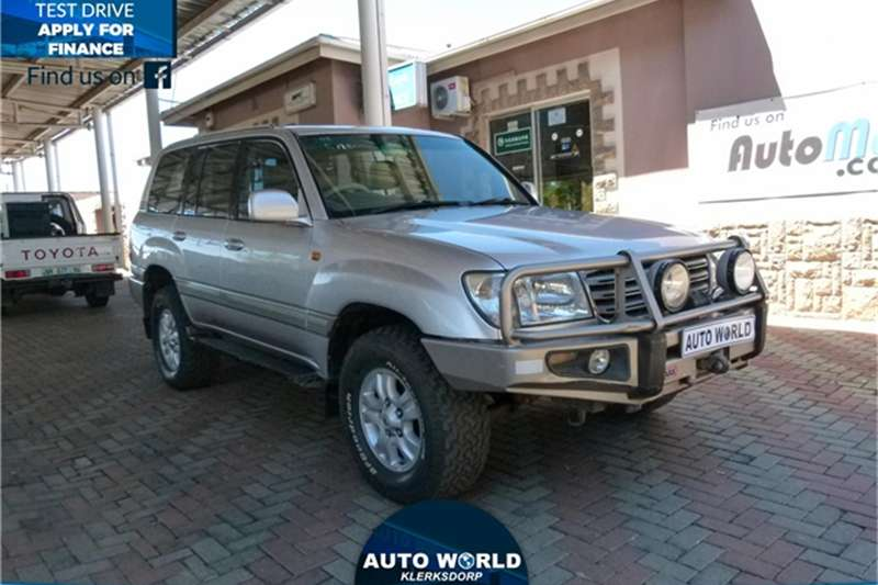 2003 Toyota Land Cruiser 100 4.5 GX