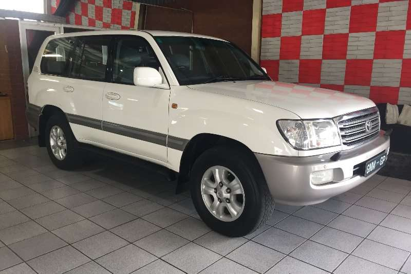 2005 Toyota Land Cruiser 100 4.7 V8 VX