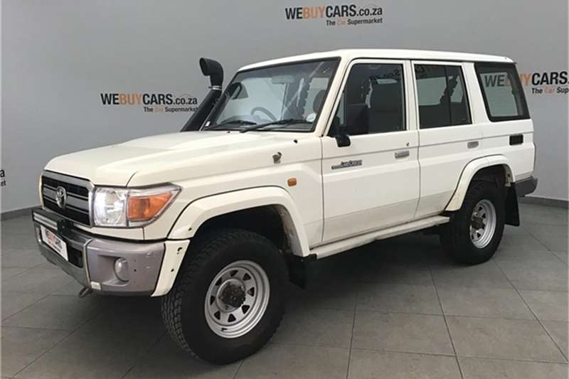 2008 Toyota Land Cruiser 76 4.2D station wagon LX