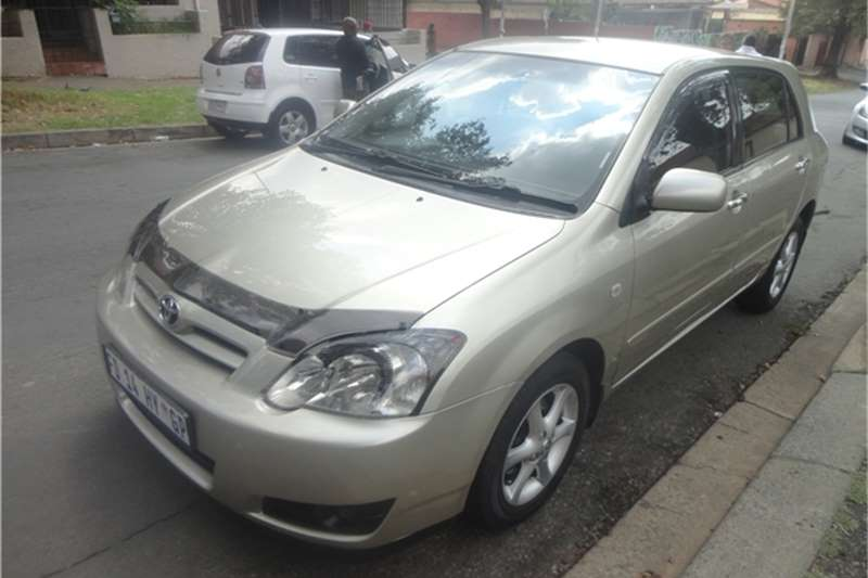 2008 Toyota Runx 1 8 Rsi Toyota Cars For Sale In Gauteng