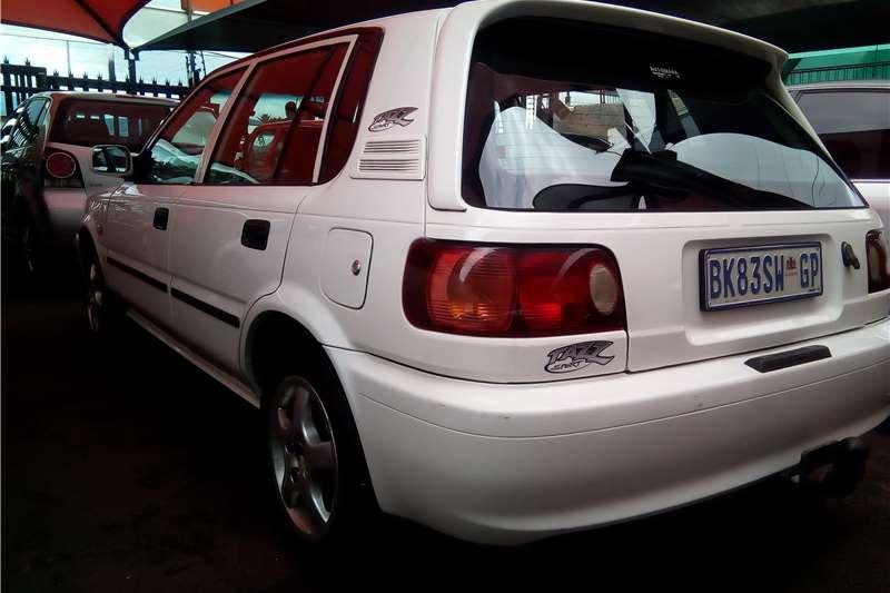 Toyota Tazz Front smash 2006