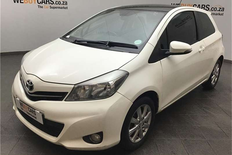Toyota Yaris 3-door 1.3 XR 2013