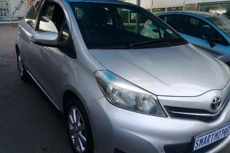 Toyota Yaris 3 door 1.3 XS 2014