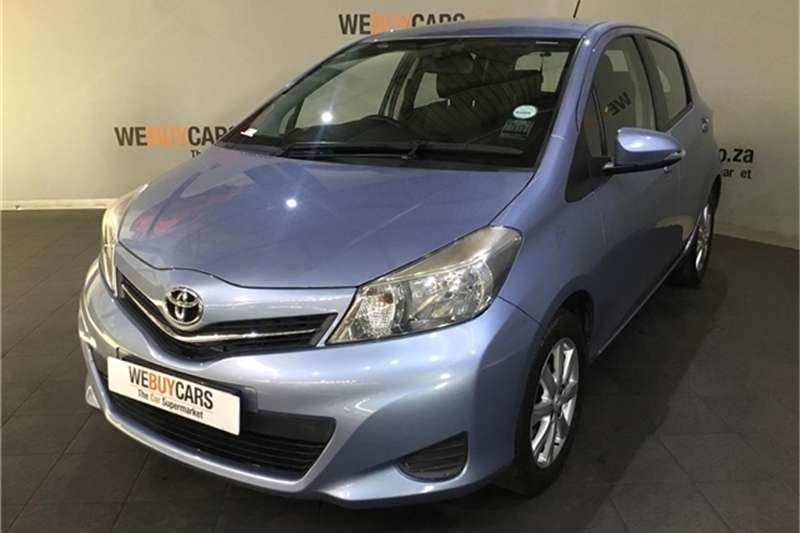 Toyota Yaris 5-door 1.3 XS 2013