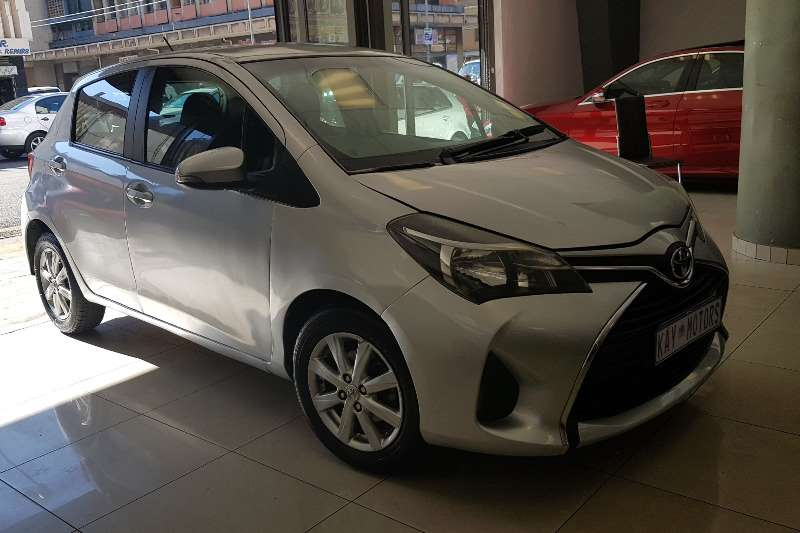 2015 Toyota Yaris hatch YARIS 1.5 Xs 5Dr