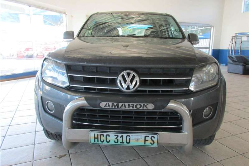 2011 Vw Amarok 2 0bitdi Double Cab Highline Cars For Sale In