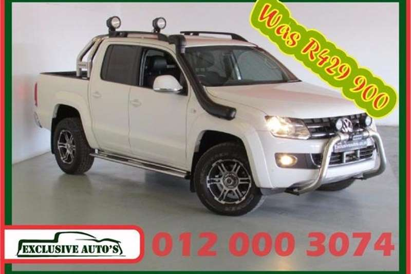 VW Amarok 2.0BiTDI double cab Highline 4Motion auto 2015
