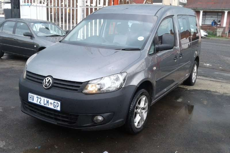 2015 VW Caddy Maxi crew bus