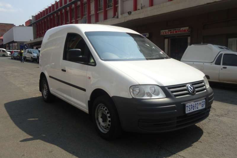 2012 VW Caddy Maxi panel van