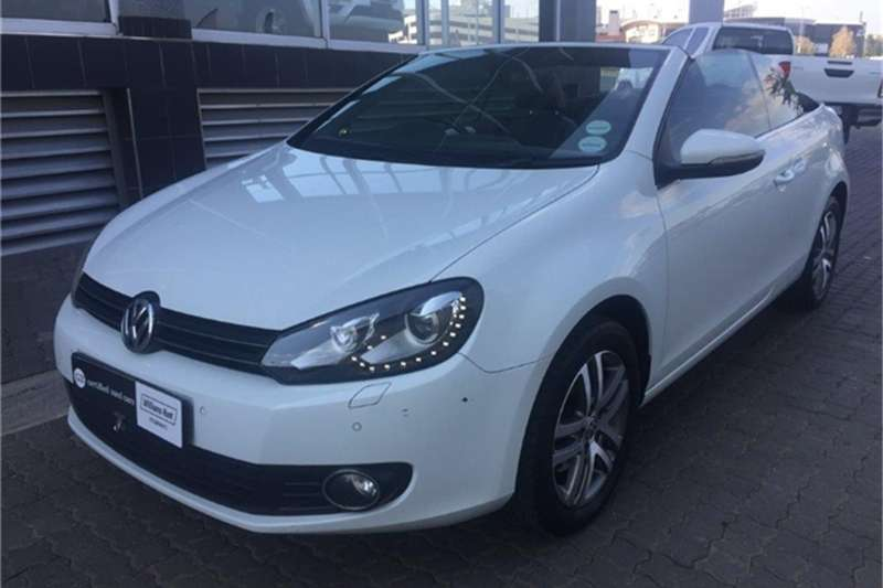 2015 VW Golf cabriolet 1.4TSI Comfortline auto