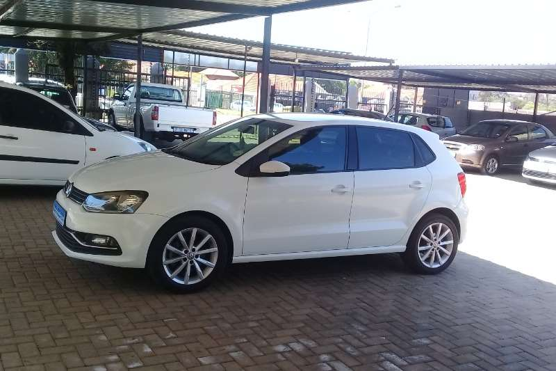 VW Polo 1.2TSI Highline auto 2014