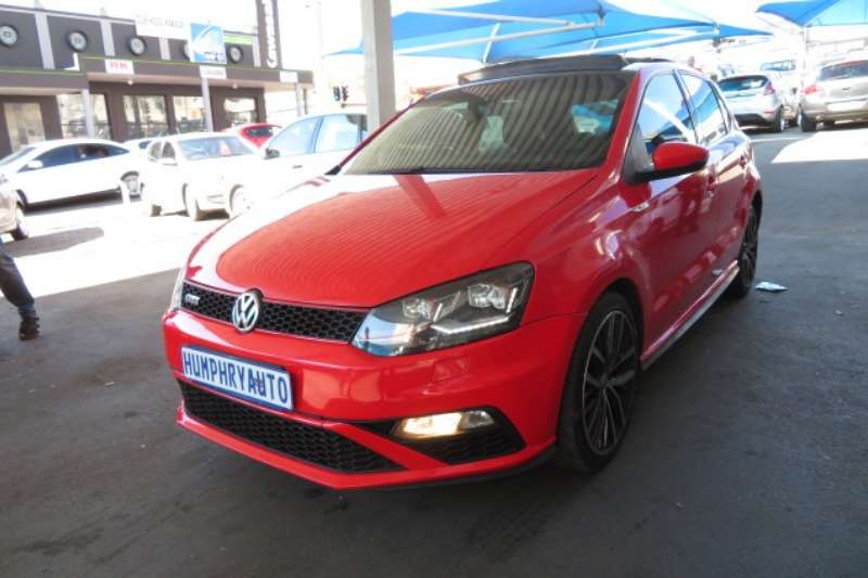 2016 vw polo gti auto hatchback petrol fwd automatic cars for sale in gauteng r 301. Black Bedroom Furniture Sets. Home Design Ideas