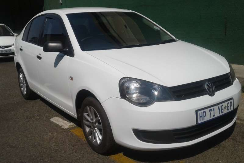 VW Polo Vivo sedan 1.4 Trendline 2012