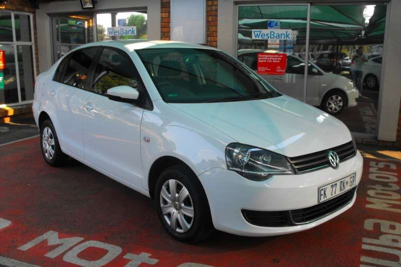VW Polo Vivo sedan POLO VIVO GP 1.4 TRENDLINE TIP 2016
