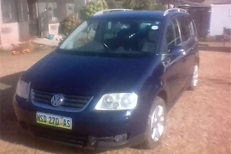 2003 Vw Touran 20 Highline Cars For Sale In Gauteng R 75 000 On