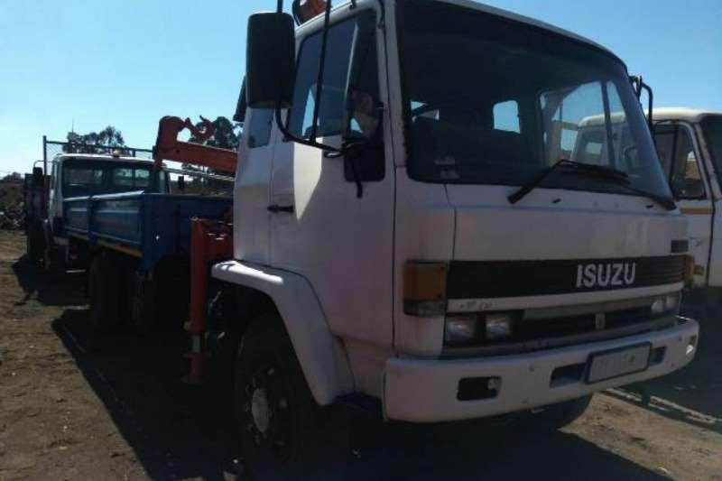 Isuzu Isuzu FTR49L Dropside Crane Truck