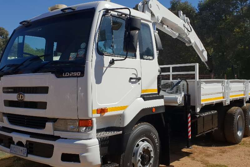 Nissan Nissan UD 290 dropside and 12 ton crane