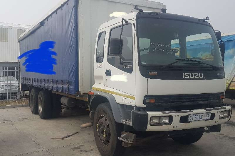 Isuzu 2007 Isuzu FVZ 1400 Curtain side