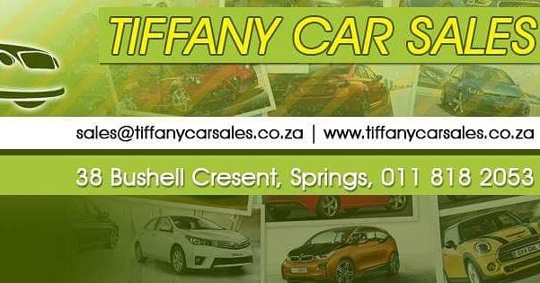 Tiffany car sales