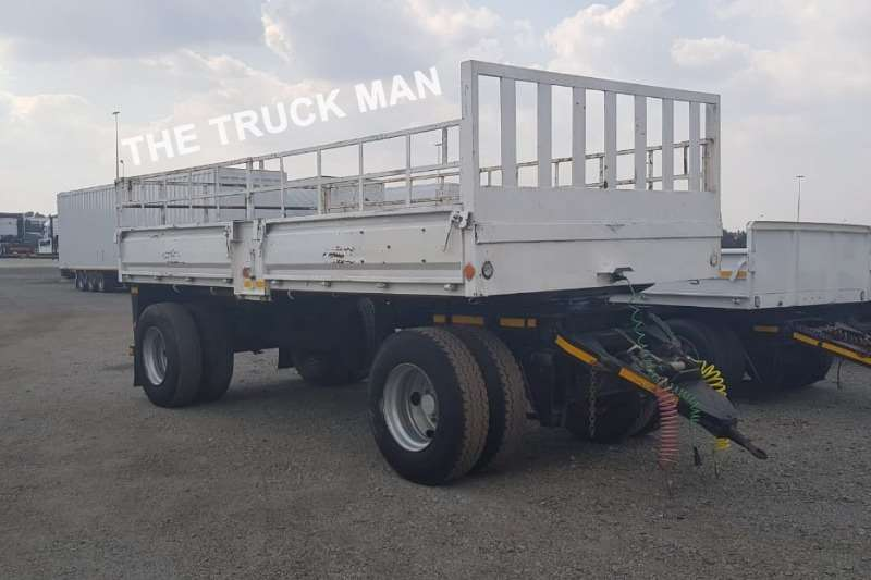 Henred 2 AXLE DRAWBAR