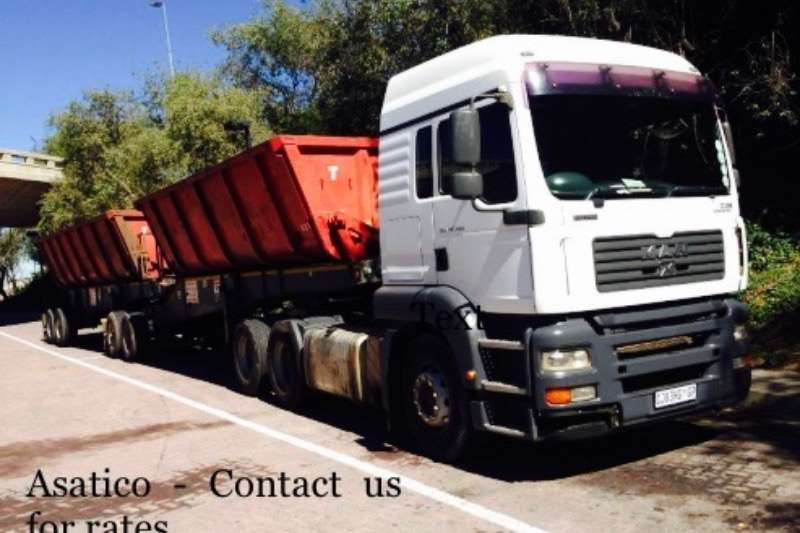 Afrit Plant For Hire 35 tons Side Tipper Truck