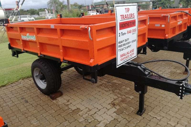2 Ton Landforce Tipper Trailer Agricultural trailers