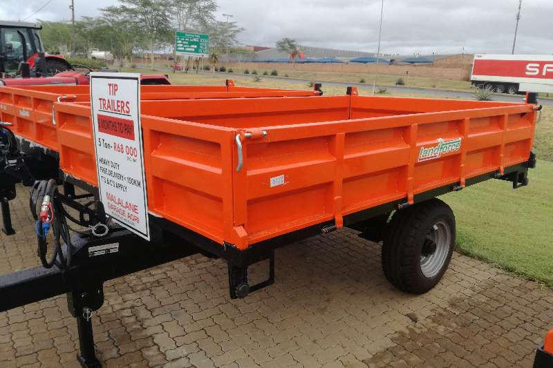 5 Ton Landforce Tipper Trailer Agricultural trailers