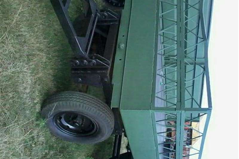Carts and wagons 6 ton trailer as also water trailer Agricultural trailers