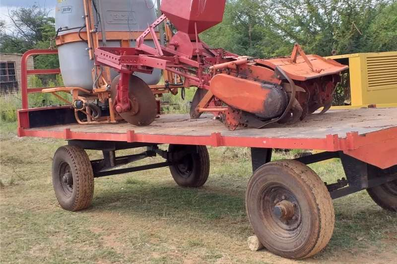 Carts and wagons 7 ton sleepwa Agricultural trailers